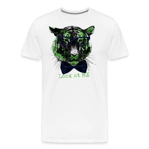 Tigerkopf_Look at me - Männer Premium T-Shirt