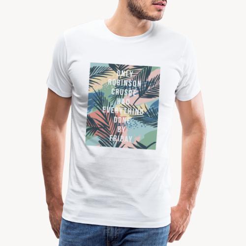 Survivor - Maglietta Premium da uomo