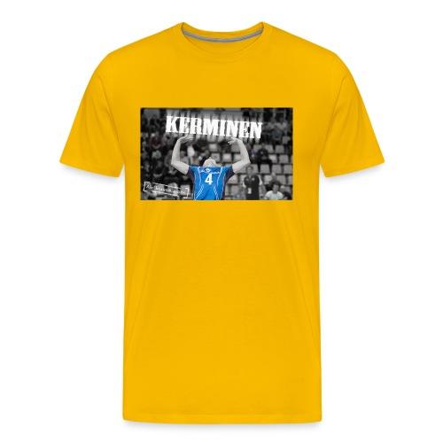 Kerminen t paita JPG - Miesten premium t-paita