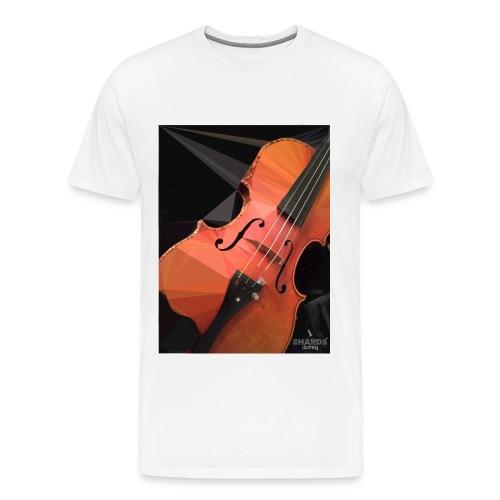 violin logo jpg - Männer Premium T-Shirt