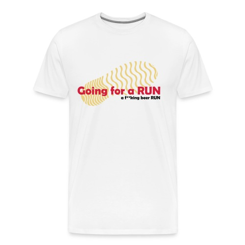 Going for a run - Men's Premium T-Shirt