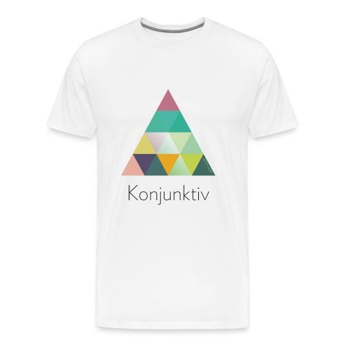 khpp7_Konjunktiv - Männer Premium T-Shirt