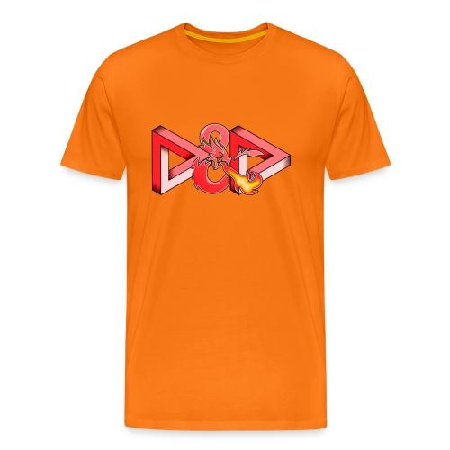 Pysyvät Dungeons and Dragons - dnd d & d - Miesten premium t-paita