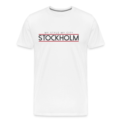 MY STYLE MY CITY STOCKHOLM - Men's Premium T-Shirt