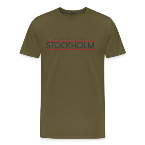 MY STYLE MY CITY STOCKHOLM - Men's Premium T-Shirt