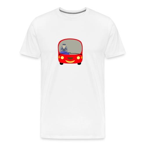 bus front - Men's Premium T-Shirt