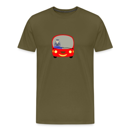bus front - Men's Premium T-Shirt