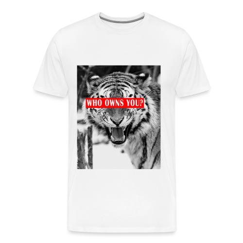 Tiger png - Männer Premium T-Shirt