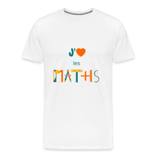 J'aime les MATHS - T-shirt Premium Homme