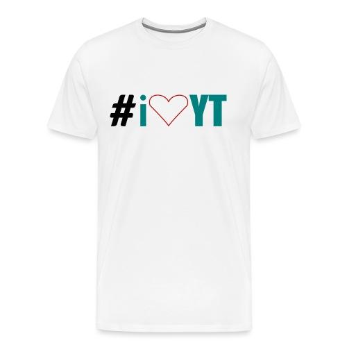 I Love YouTube - Männer Premium T-Shirt