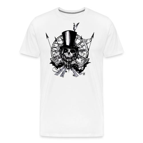 calaberacrow2 png - Men's Premium T-Shirt