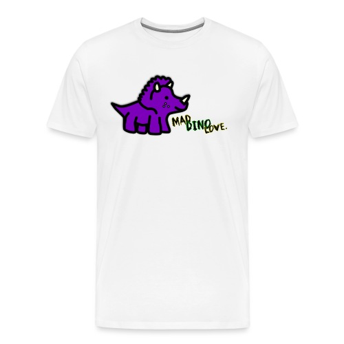 Trixie Mad Dino Love png - Men's Premium T-Shirt
