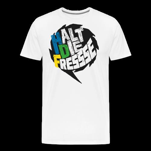 AGGRO.TV - Halt die Fresse T-Shirt - Männer Premium T-Shirt