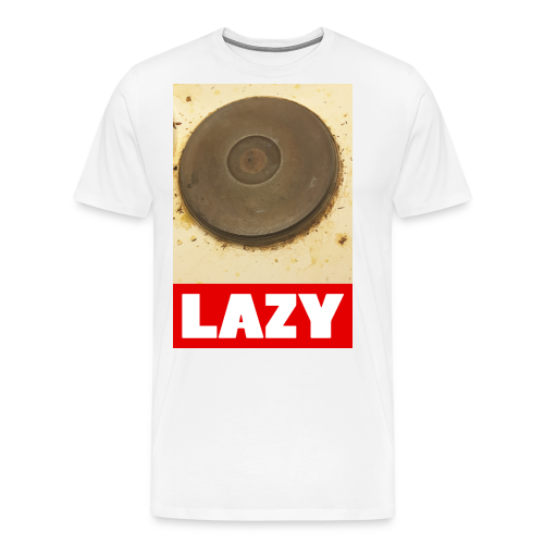 Lazy - Miesten premium t-paita