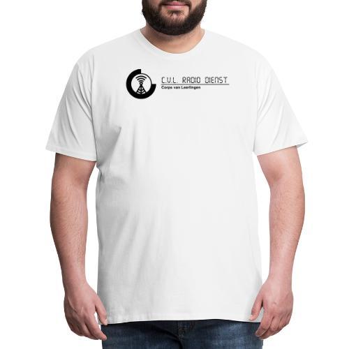 CRD Logo met Tekst - Mannen Premium T-shirt