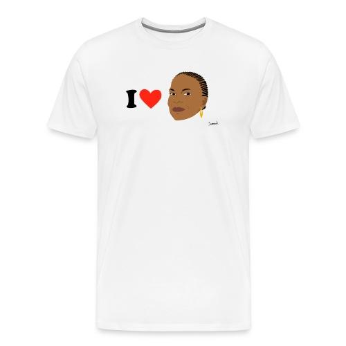 i love taubira spread - T-shirt Premium Homme