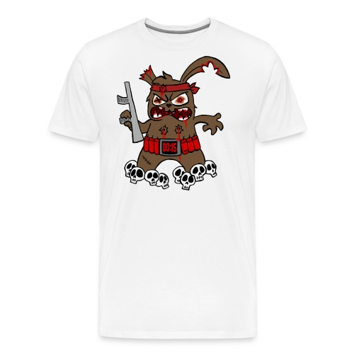 Terrorhase 2.0 - Männer Premium T-Shirt
