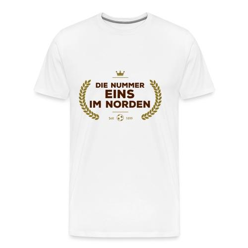 No1 Lorbeerkranz - Männer Premium T-Shirt