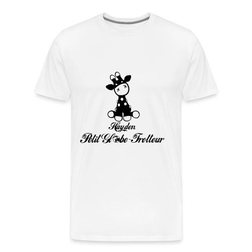 Hayden petit globe trotteur - T-shirt Premium Homme