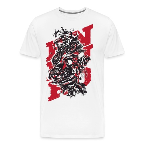 Enduro MTB - Koszulka męska Premium