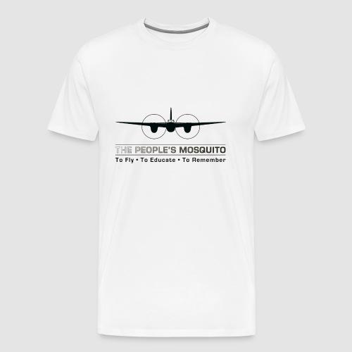 TPM_Mossie_Nose_on - Men's Premium T-Shirt