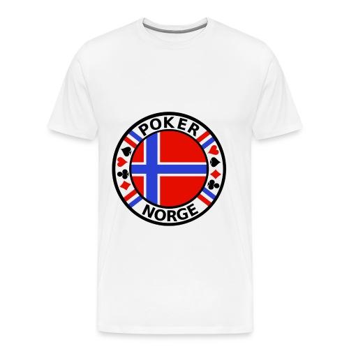 PoKeR NoRGe - Men's Premium T-Shirt