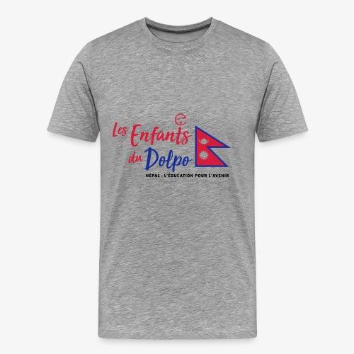 Les Enfants du Doplo - Grand Logo Centré - T-shirt Premium Homme