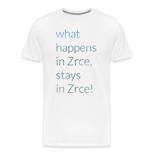 What happens in Zrce, stays in Zrce! - Männer Premium T-Shirt