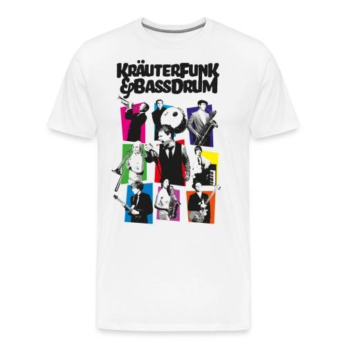 Kräuter-Band - Männer Premium T-Shirt