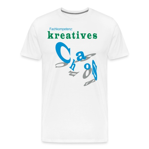 kreatives Chaos - Männer Premium T-Shirt