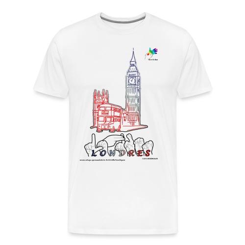 LONDRES - T-shirt Premium Homme