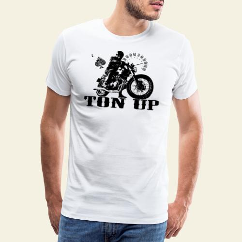 ton up black - Herre premium T-shirt