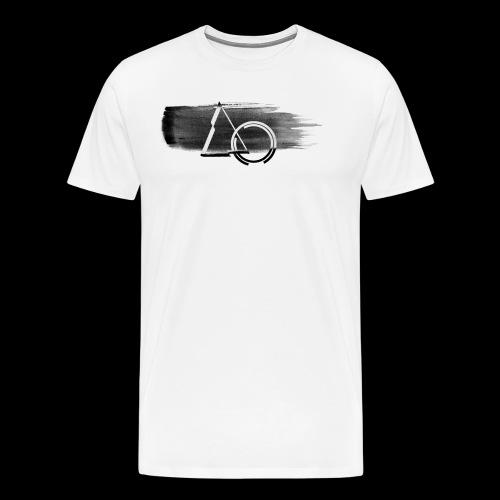 Large Shape Paint - Men's Premium T-Shirt