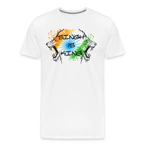 Singh is King - Men's Premium T-Shirt