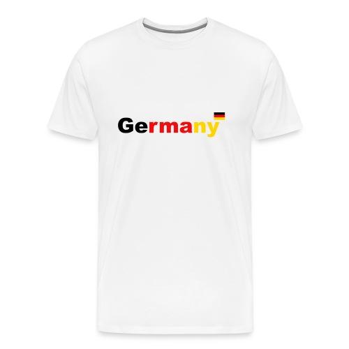Germany Deutschland Германия - Männer Premium T-Shirt