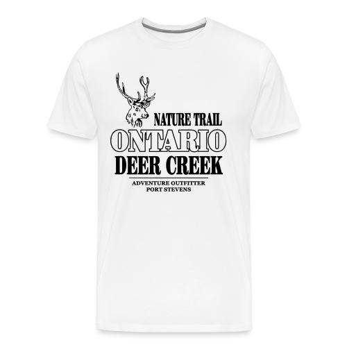 Ontario Deer - Männer Premium T-Shirt