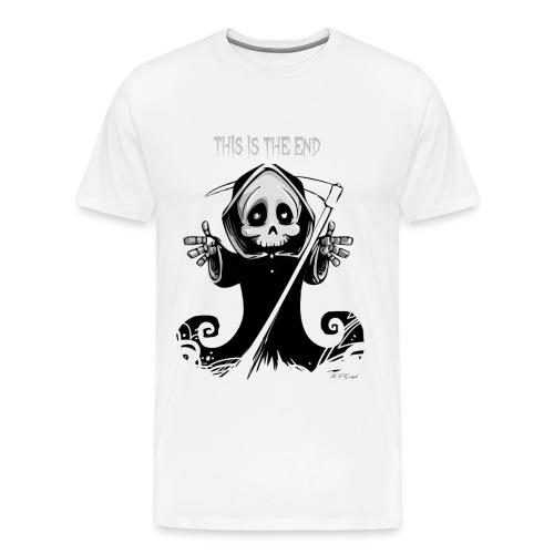 dasEndeRKG png - Männer Premium T-Shirt