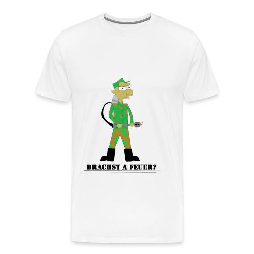 Brauchst A Feuer? - Männer Premium T-Shirt