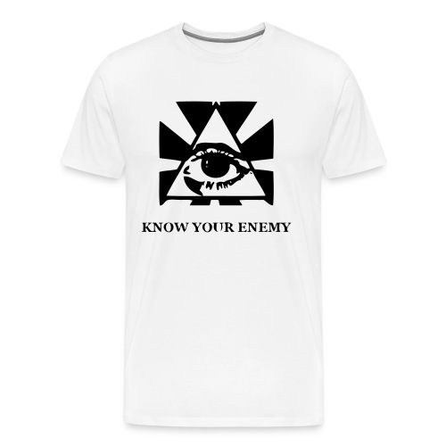 Know your enemy - Premium-T-shirt herr