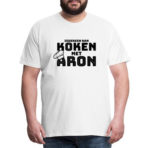 Koken met Aron - Mannen Premium T-shirt