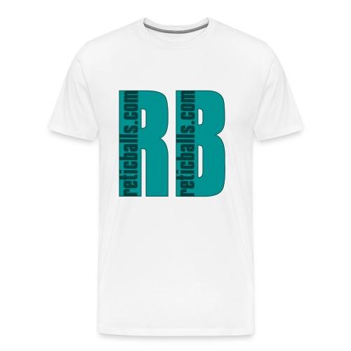 reticballs com inside - Männer Premium T-Shirt