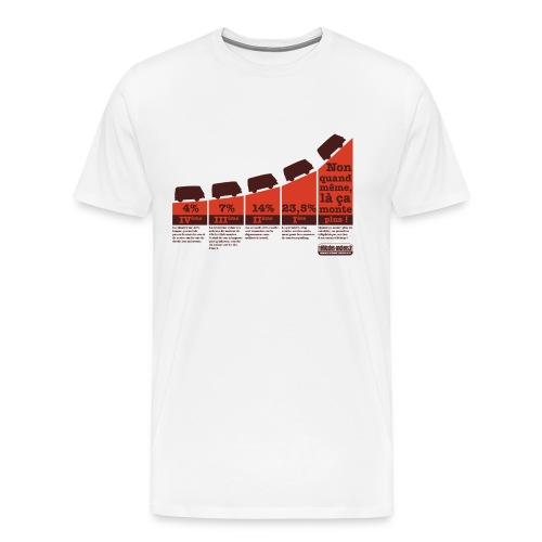 Tshirt Pourcentages Estaf - T-shirt Premium Homme