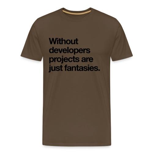devs-rule - Männer Premium T-Shirt