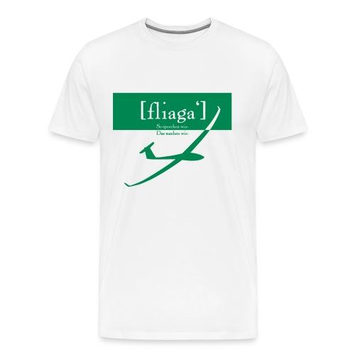 fliaga - Männer Premium T-Shirt