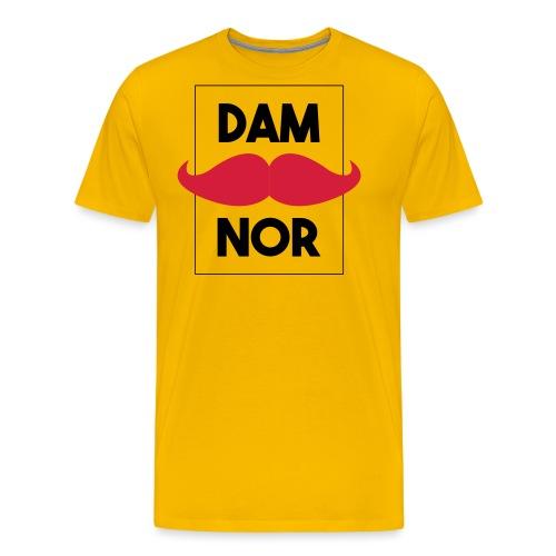 Damnor en Or (H) - T-shirt Premium Homme