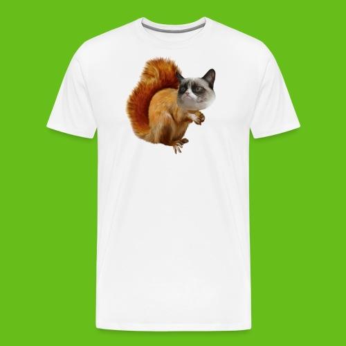 Grumpy Squirrel - Mannen Premium T-shirt