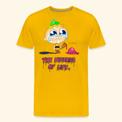 The Miseries of Life Eiscreme Eis Kind - Männer Premium T-Shirt