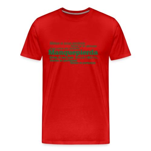 camisetaidiomas2 - Camiseta premium hombre