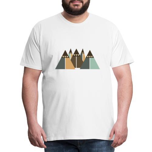 Bergwelt - Männer Premium T-Shirt