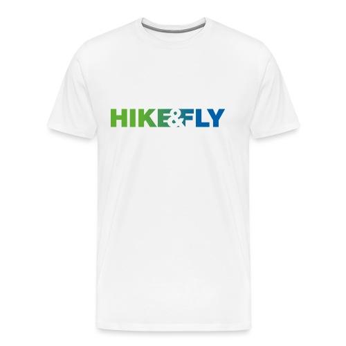 Hike & Fly Paragliding - Männer Premium T-Shirt